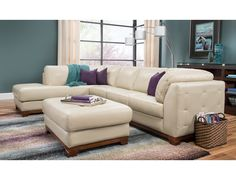 Slumberland | Brooklyn Collection - Taupe Left Chaise Sectional
