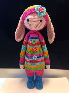 Crochet Dolls Free Patterns, Crochet Doll Pattern, Amigurumi Patterns, Amigurumi Doll, Doll Patterns, Crochet Baby Toys, Crochet Bunny, Crochet Animals, Free Crochet
