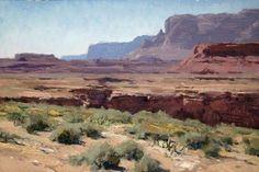 "Artist : Matt Smith American Painter.""LANDSCAPES"""