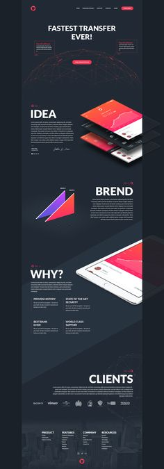 I like this color scheme - maybe inverted. Dribbble - Fun-project.png by Vladimir Babić