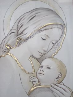 Totus Tuus This prayer was written by Pope John Paul II to Mary Immaculate Totally yours, Immaculate Conception, Mary my Mother, Live. Blessed Mother Mary, Blessed Virgin Mary, Religious Icons, Religious Art, Religious Paintings, Jesus Art, Sainte Marie, Pope John Paul Ii, Mary And Jesus