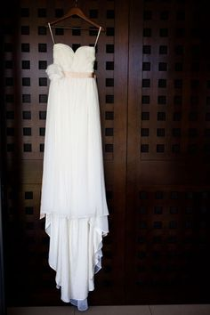 dream beach wedding dress.
