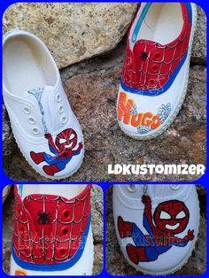 #shoes #zapas #spiderman #LDKustomizer