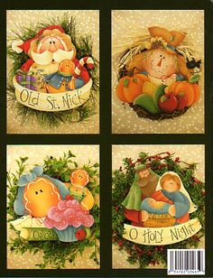 The Decorative Painting Store: Plum Purdy Mini Seasons, All Books