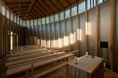 Saint Benedict Chapel, Sumvitg, Graubünden, Switzerland, 1988.