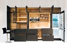 If you're into #MicroLiving, this transformable #furniture can really maximize your space.