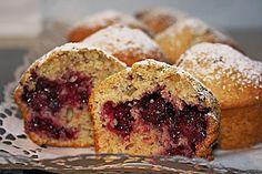 Saftige Pflaumen - Muffins (Schmeckt auch gut mit Vollkornmehl und Agavendicksaft statt zucker) für Kinder