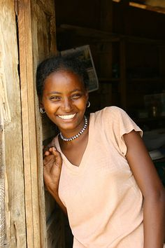 Eritrea girl in  Danakil