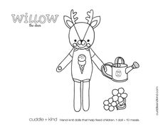 Willow Tree Coloring Pages Luxury Cuddle Kind Willow the Deer Colouring Sheet Tree Coloring Page, Easter Coloring Pages, Coloring Sheets For Kids, Printable Coloring Sheets, Colouring Pages, Free Coloring, Coloring Books, Colouring Sheets, Cute Kids Crafts
