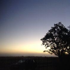 Sunrise autumn