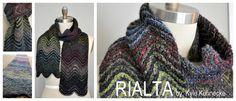 Knit-Rialta Scarf Pattern