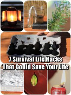 7 Survival Life Hacks That Could Save Your Life - This is a quick article to show you 7 really easy survival life hacks we all should keep on the back burner in case we ever need to use them. All 7 hacks are meant to be used in a pinch, so use common sense and substitute things if you do not have access to the listed materials.
