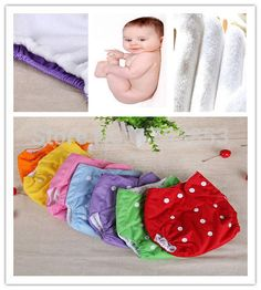 Baby cloth nappy covers with press studs. $0.85 - $1.80 each from Aliexpress