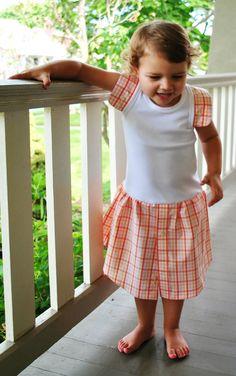 Create and Delegate: Tutorial: Shirt Cuff Tank Dress SO EASY!