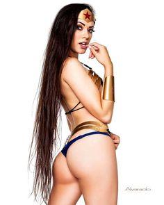 @joaniebrosas #Wonderbooty by @alvaradopinup #Wonderwoman #wcw #Cosplaybutts