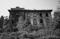 Abandoned Italian Mansion by ~Nat~, via Flickr