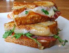"The ""Adult Grilled Cheese Sandwich."" #recipe"