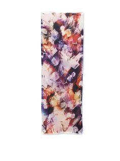 68% OFF Juma Women's Floral Rectangle Scarf, Violet Medley