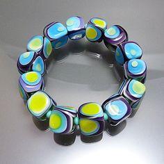 - K -   Melanie Moertel Lampwork Beads
