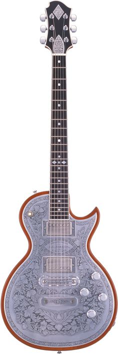 Zemaitis metal front guitar. One of the finest pieces to be found anywhere.