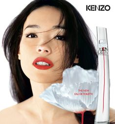 Kenzo Flower by Kenzo L'Eau Originelle (2015) {New Fragrance} {Perfume Images & Ads} http://www.mimifroufrou.com/scentedsalamander/2015/04/flower_by_kenzo_l_eau_originelle.html