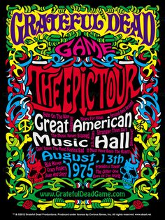 Grateful Dead Game - The Epic Tour Poster by titosup on CreativeAllies.com