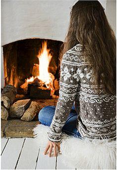fire sweater