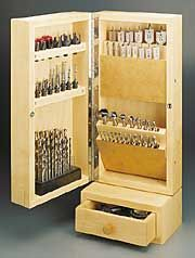 Drill Bit Cabinet