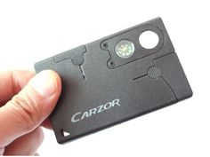 The Credit Card Companion is so light and slim that you'll barely know you have it, yet when needed you'll find it's amazingly useful. The stainless blad Survival Food, Outdoor Survival, Survival Knife, Survival Prepping, Emergency Preparedness, Survival Skills, Survival Hacks, Earthquake Kits, Wilderness Survival