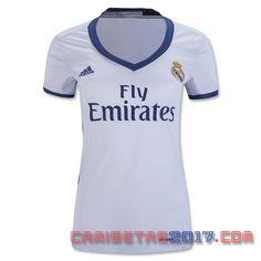 Camiseta mujer Real Madrid 2016 2017 primera