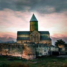 Alaverdi Monastery-Akhmeta, in the Kakheti region of Eastern Georgia