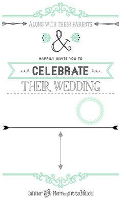 DIY Wedding Invitations: Part 1 - Upcycled Treasures
