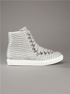 GIVENCHY, AW11 HIGH-TOP: so much hardware; so many seams.