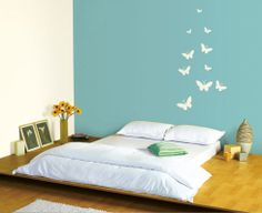 Get a wide range of paints for home from plain finishes interior walls online. Exclusive home painting products for varied requirement of your interior walls by Asian Paints. Room Wall Colors, Wall Paint Colors, Wall Colours, Bedroom Colors, Mural Wall Art, Wall Decals, Wall Stickers, Wall Paintings, Asian Paint Design