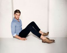 Dune London SS14 Men's Campaign, featuring brogues BART. #dunelondon #dune #mens #shoes #fashion #style #editorial