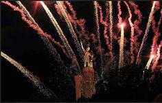 Watch fireworks at Vulcan