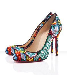 Christian Louboutin shoes #pump #colourful