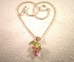 A  Petit Pearl and Swarovski Crystal Garden on a by SUSANsBAUBLES, $34.00