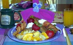Bed and Breakfast Recipes and Cookbook from our Mentone Alabama Bed and Breakfast Inn