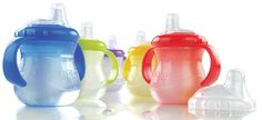 Nuby No-Spill Cup w/ Handles- 10oz by Nuby at BabyEarth.com, $4.46