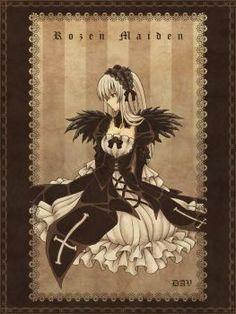 Rozen Maiden - Suigintou por DAV-19