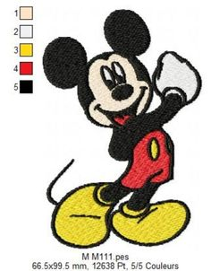 Disney Patches, Free Machine Embroidery Designs, Sewing Clothes, Mickey Mouse, Applique, Quilts, Stitch, Comme, Feathered Hairstyles