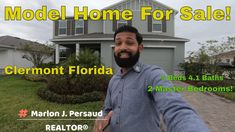 Model Home For Sale in Clermont Florida with 2 Master Bedrooms! | 5 Beds...