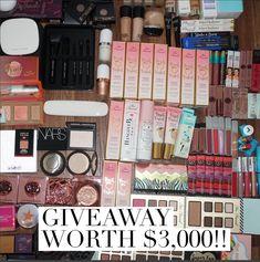 $3,000 worth of makeup & Goodies