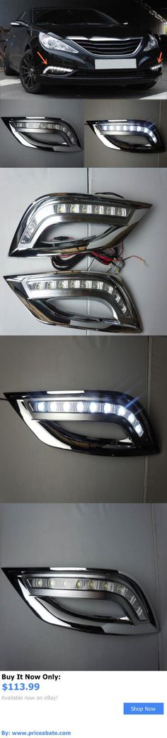 Motors Parts And Accessories: 2Pcs White Led Daytime Running Fog Lights For Hyundai Sonata 2011-2012 BUY IT NOW ONLY: $113.99 #priceabateMotorsPartsAndAccessories OR #priceabate