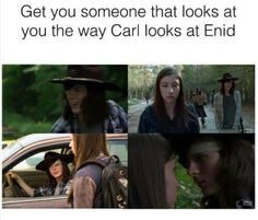 can i have chandler riggs/ carl grimes himself? Walking Dead Zombies, Fear The Walking Dead, Best Tv Shows, Best Shows Ever, Carl E Enid, Awesome Stuff, Funny Stuff, The Walk Dead, Katelyn Nacon