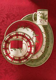 Lenox Holiday Gatherings Dinnerware - I have a couple of place settings of this one