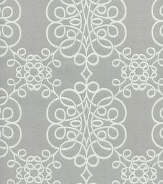 HGTV Home Upholstery Fabric-Seminole Smoke