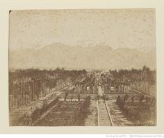 [Téhéran. Jardin du Nizamiyeh. Oeuvre de Luigi Pesce] : t. 1 | Gallica