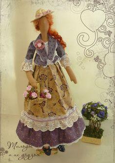 Куклы Тильда, ангелы тильда и их друзья - зайки, кошки и мишки